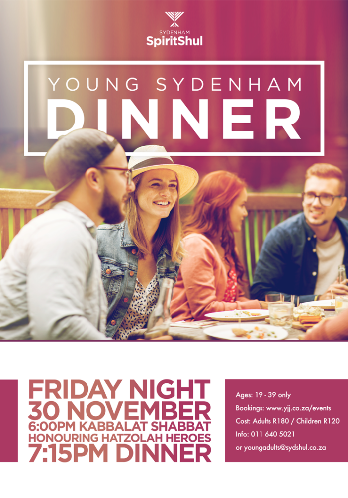 Young Sydenham Dinner Nov